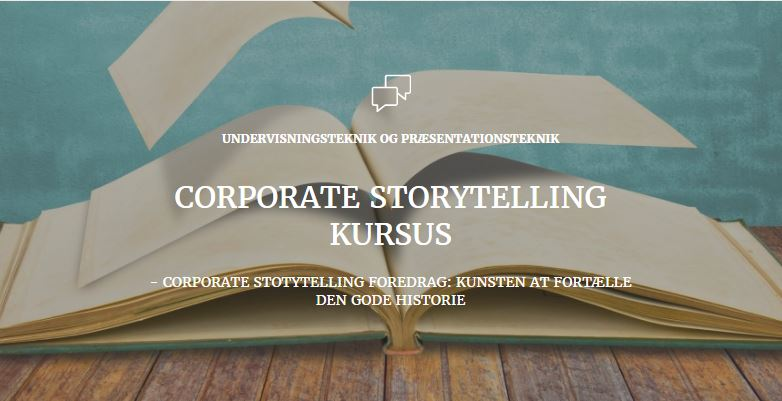 Corporate Storytelling foredrag