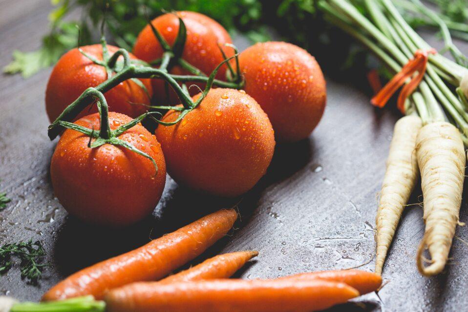 Vegetar og vegansk frokostordning