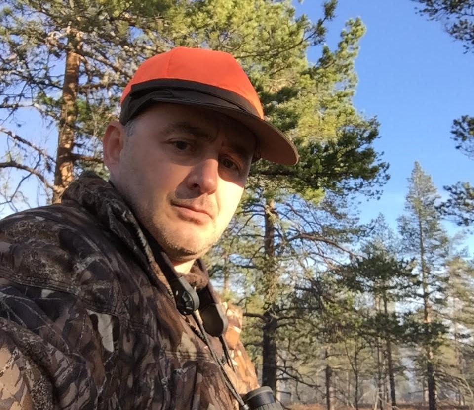 Tue Askeland jagt